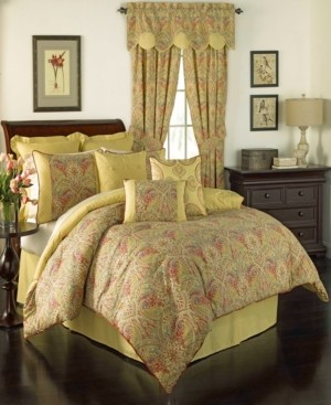 Savannah Home Waverly Swept Away 4 Piece King Comforter Set Bedding