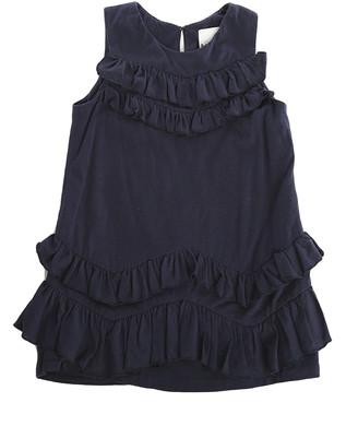 3.1 Phillip Lim Kids Chevron Ruffle Dress