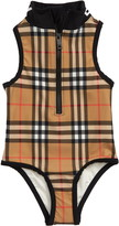 Burberry Siera Check One-Piece Swimsuit