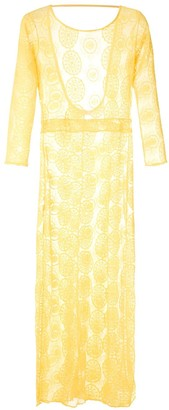 BRIGITTE Sheer Maxi Dress