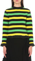 J.W.Anderson Striped knitted jumper