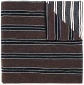 Antonio Marras striped knitted scarf
