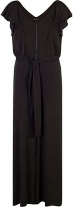 Chesca Frill Trim Jersey Jumpsuit