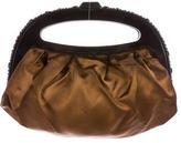 Jimmy Choo Embellished Frame Evening Bag