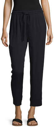 A.N.A Womens Straight Drawstring Pants