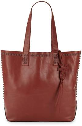 Frye Carson Mono Stud Leather Tote