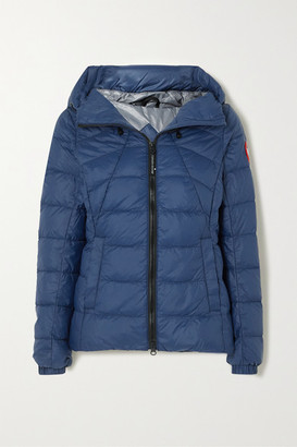 Canada Goose Abbot Hooded Quilted Shell Down Jacket - Blue