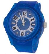 JCPenney ZUNAMMY Zunammy Mens Blue Silicone Watch