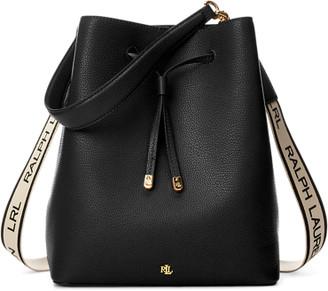 Ralph Lauren Large Logo Debby Drawstring Bag