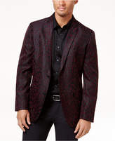 INC International Concepts Men's Slim-Fit Leopard Flocked Blazer, Created for Macy's