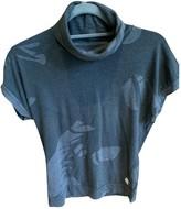 MHI Grey Cotton Tops