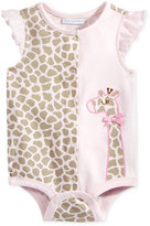 First Impressions Giraffe Cotton Snap-Up Bodysuit, Baby Girls (0-24 months), Only at Macy's