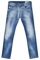 Diesel Light Wash Sleenker Slim Fit Jeans