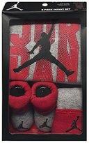 Nike Jordan Infant Boy's 3 Pcs Sets Short sleeve Bodysuit Cap and Booties