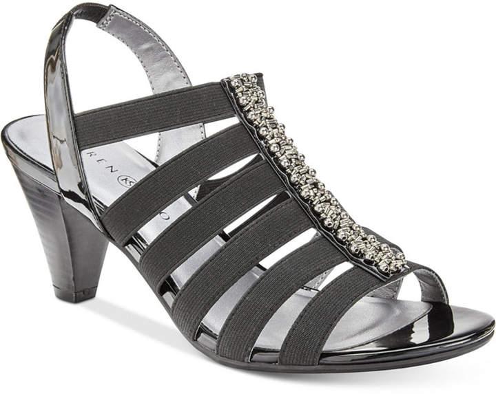 Karen Scott Neema Strappy Sandals, Created for Macy's