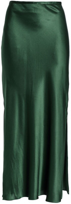 Michael Lo Sordo Silk-satin Midi Skirt