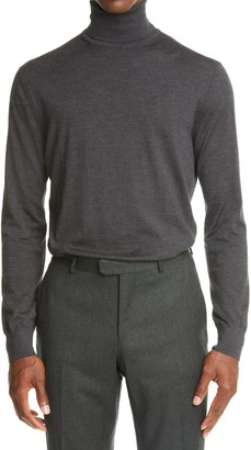 Ermenegildo Zegna Cashmere & Silk Turtleneck Sweater