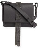 Brunello Cucinelli Leather Monili Tassel Shoulder Bag
