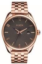 Nixon Women's 'Bullet' Guilloche Dial Bracelet Watch, 38Mm