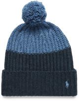 Polo Ralph Lauren - Color-block Knitted Bobble Hat