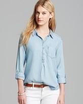 C&C California Shirt - Textured Chambray