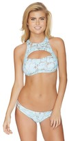 Reef Turquoise Stone High Neck Bikini Top