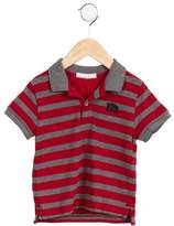 Burberry Boys' Striped Short Sleeve Shirt