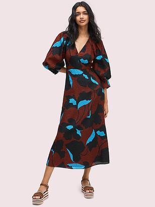 Kate Spade City Blooms Jacquard Dress