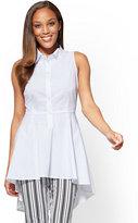 New York & Co. 7th Avenue - Hi-Lo Sleeveless Shirt