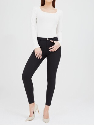 River Island Molly Skinny Fit Trouser-black