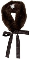 Max Mara Fox Fur Stole