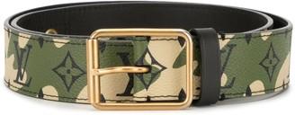 Louis Vuitton x Takashi Murakami pre-owned camouflage belt