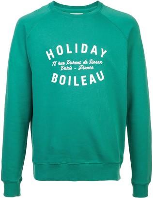 Holiday printed jumper