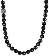 David Yurman 925 Sterling Silver Black Onyx Moonstone