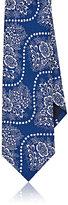 Barneys New York Men's Floral-Bandana Faille Necktie