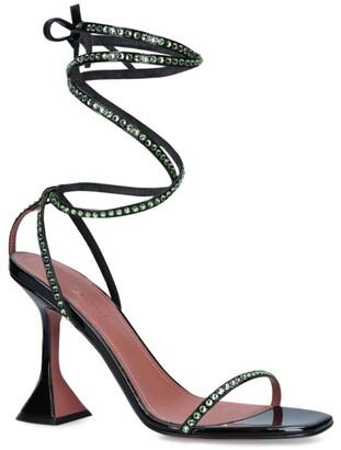 Amina Muaddi Crystal Vita Sandals 95