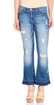 Flying Monkey Let Out Crop Flare Jeans
