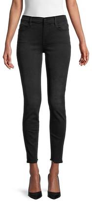 Frame Le High Skinny Torn-Hem Jeans