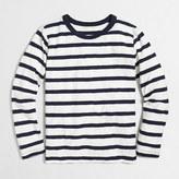 J.Crew Factory Boys' long-sleeve striped T-shirt