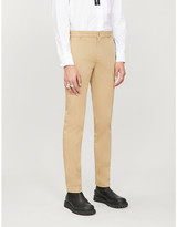 Givenchy Slim-fit tapered stretch-cotton-twill chinos