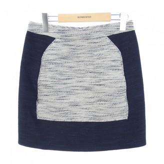 3.1 Phillip Lim Navy Linen Skirt for Women