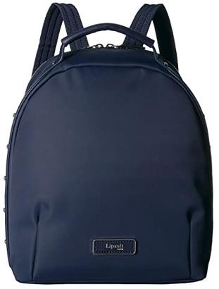 Lipault Paris Business Avenue Backpack Small (Garnet Red) Backpack Bags