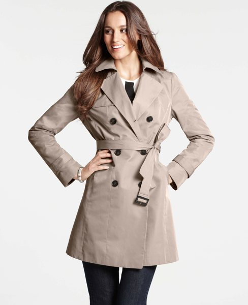 Ann Taylor Modern Trenchcoat