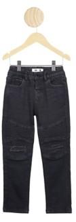 Cotton On Toddler Boys Biker Moto Jean