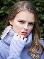Angora Wool Turtleneck_lavender