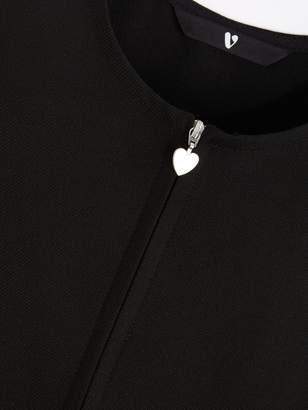 Very Girls 2 Pack Pleated Pinafore School Dresses - Black