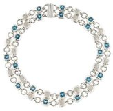 David Yurman Topaz & Diamond Renaissance Necklace