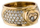 Chopard 18K Diamond Happy Heart Ring