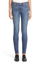 Frame Raw Hem Skinny Jeans (Grand Street)