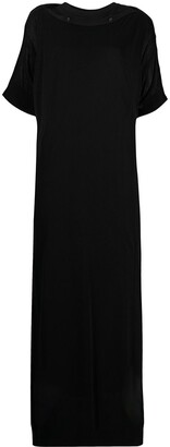 Y's Knitted Layered Maxi Dress